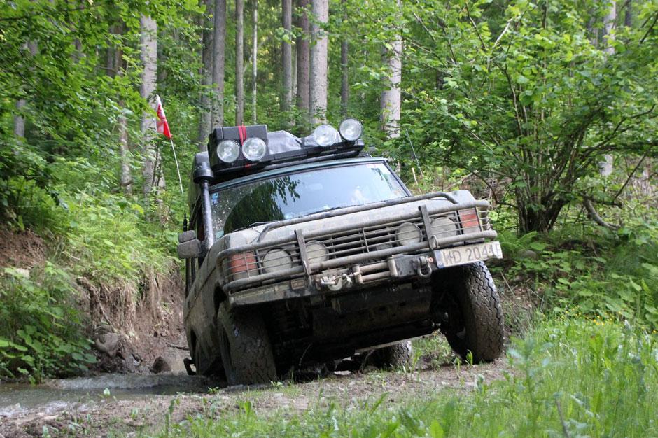 Range Rover Classic na wyprawy